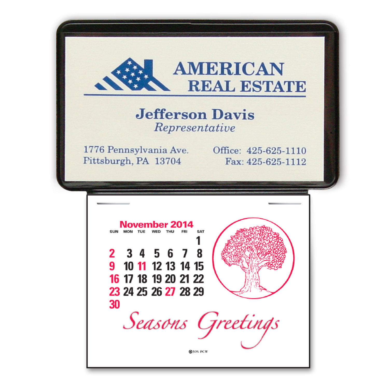 Press-N-Stick Business Card Insert Press-N-Stick Business Card ...